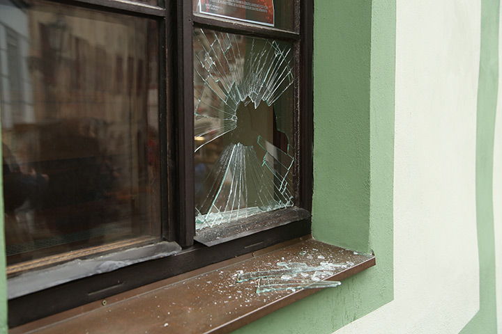 A2B Glass are able to board up broken windows while they are being repaired in Havering.